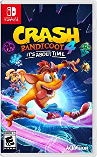 Crash 4: It's About Time for Nintendo Switch