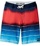 Billabong Kids - Tribong Lo-Fi Boardshorts (Big Kids)