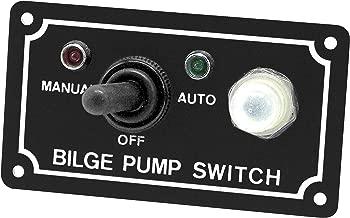 Shoreline Marine Bilge Pump Switch 3-Way Panel