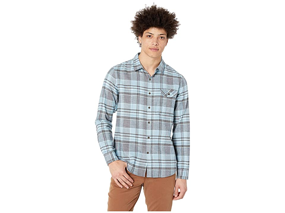 VISSLA Central Coast Shirt (Light Slate) Men