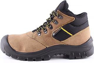 7222d9bd Atletic Ankle S1® - Botas de Seguridad para Trabajo para Hombre - Ante -  Puntera