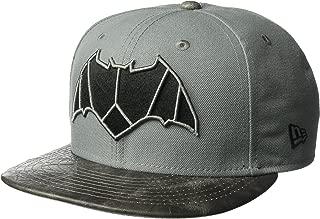 New Era Cap Men's Justice League Batman 9FIFTY Snapback Cap, Black, One Size