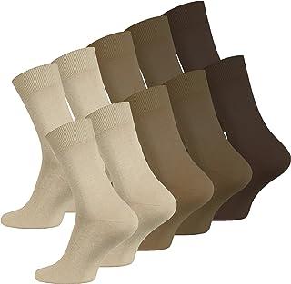 10 pares de Calcetines para hombre, negro