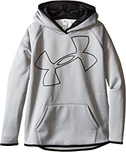 Under Armour Kids Storm Armour Fleece Big Logo Hoodie (Big Kids)