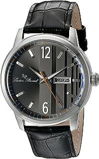Lucien Piccard Men's LP-40027-01 Milanese Analog Display Japanese Quartz Black Watch