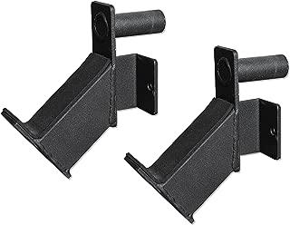 Valor Fitness MB-E Short Barbell Holder Accessory Set for BD-7 and BD-33 Power Racks