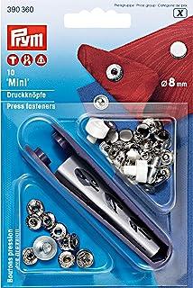 10-100 x Prym Press Studs Snap Fasteners Popper in 10mm Nickle Free Prym