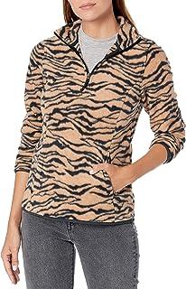 Amazon Essentials Women's Quarter-Zip Polar Fleece Pullover Jacket