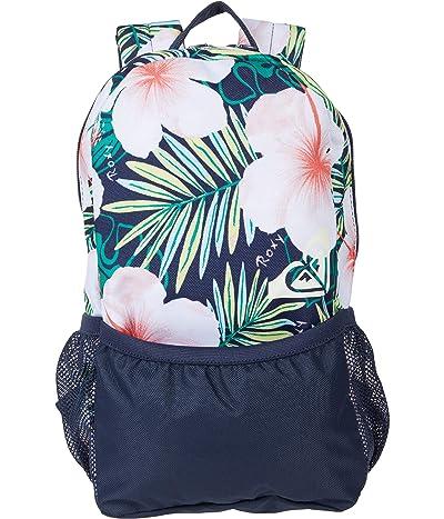 Roxy Kids Love Letter Backpack (Little Kids/Big Kids) (Mood Indigo Grange Fleur) Backpack Bags
