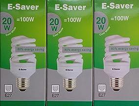 E-Saver CFL Energy-Saving Bulb, E27, 100 W