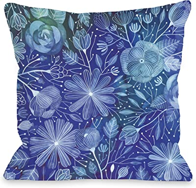 Buckle Down Pillow-70s Tie Dye Throw Pillow Multicolor