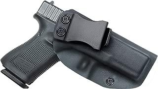 Spheresun Glock Holster, IWB KYDEX Holster Custom Fit | Inside Waistband Concealed Carry Holster | Adjustable Cant & Retention