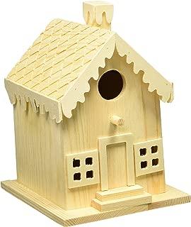 Darice 9190-117 Wood Gingerbread House