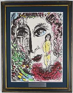 マルク シャガール 『サーカスの幻【LITHOGRAPHE Ⅱ 1957-1962より】』 絵画 版画 リトグラフ 1963年パリで制作 作家生前作品 ※90日間返品保証 無期限アフターサービス