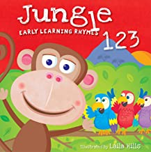 Early Learning Rhymes Jungle 123 (Board Book)