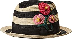 Blossom Embroidered Trilby