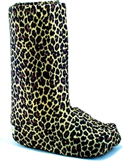 My Recovers Walking Boot Cover for Fracture Boot, Fashion Cover in Leopard,Tall Boot, Made in USA, Orthopedic Products Accessories (LG)