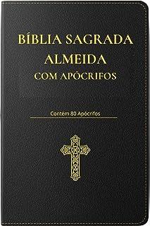 Bíblia Sagrada Almeida : com Apócrifos (Portuguese Edition)