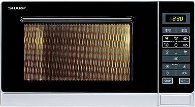 Sharp R342INW Microondas 25L, Control Tactíl, 900W