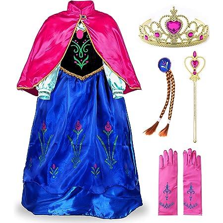Bestier Little Girls Princess Dress Costume