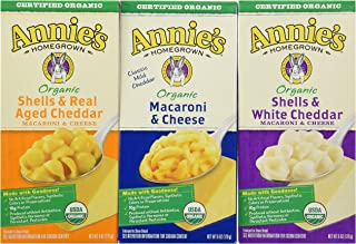 Annies Home Grown Organic Mac & Cheese, 12Count