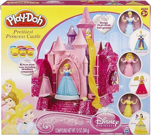 promociones emocionantes Play-Doh Disney Princesa más más más Bonitos Princesa Castillo Set  el estilo clásico