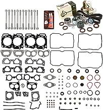 Evergreen HSHBTBK9012 Head Gasket Set Head Bolts Timing Belt Kit Fits 04-09 Subaru 2.5 SOHC EJ251 EJ253