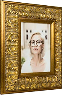 Craig Frames Barroco, Antique Gold Baroque Picture Frame, 11 by 14 Inch