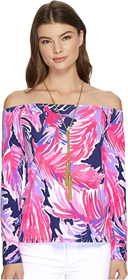 Lilly Pulitzer - Audelia Off-The-Shoulder Top