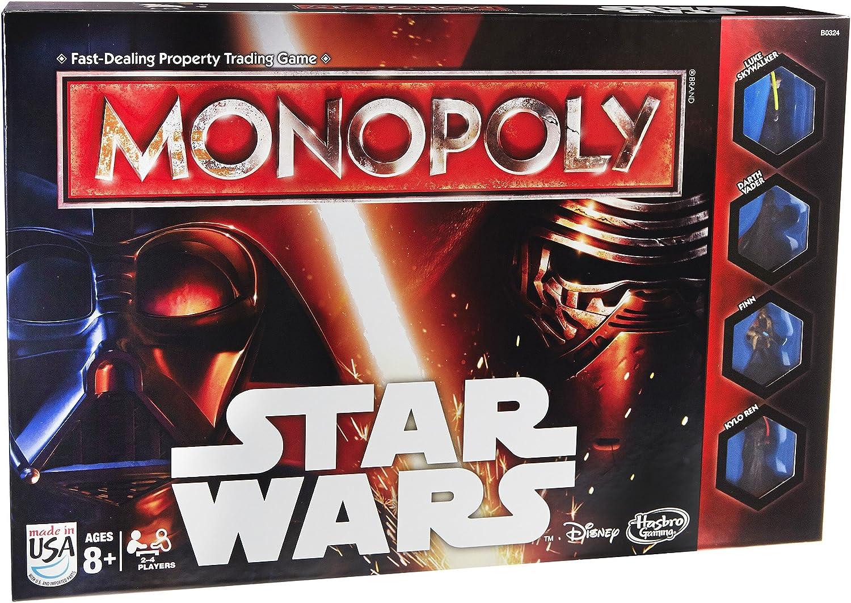 Hasbro B0324103 - Monopoly estrella guerras  [Versione in Inglese]