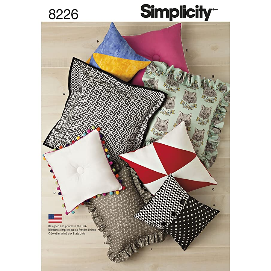 Simplicity Creative Patterns Simplicity Pattern 8226 Easy Pillows