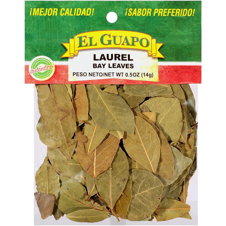 El Guapo Mexican Bay Leaves New item Laurel Pack of oz 0.5 12 shop