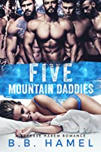 Five Mountain Daddies: A Reverse Harem Romance (Love Times Five Book 1)