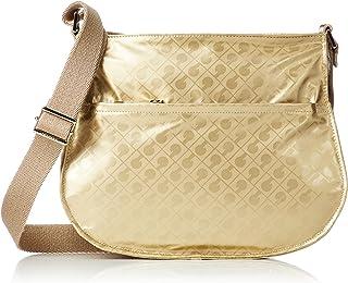 [ゲラルディーニ] ショルダーバッグ_Ladies 軽さと柔らかい素材が人気のソフティーシリ―ズ。人気の外ポケットデザインに使い勝手の良いサイズ感は、普段使いからトラベルシ―ンまで多くのシーンで活躍します。