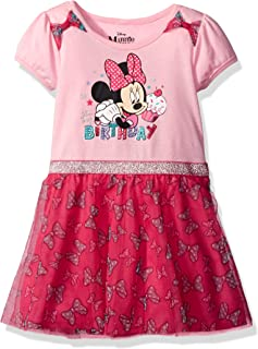 Disney Girls Minnie Mouse Birthday Dress
