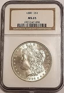 1886 morgan ms65