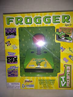 Frogger Plug And Play Arcade TV Game, Plug Directly Into Your TV, No Game Console Required, Ages 5+ New In Box