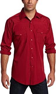 Wrangler Men's Tall Sport Western Snap Shirt