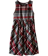 Dolce & Gabbana Kids - Back to School Quadricheck Tartan Dress (Big Kids)