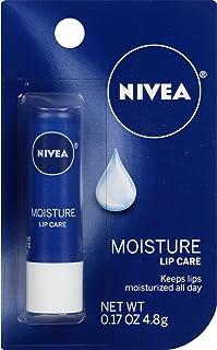 NIVEA Moisture Lip Care, 0.17 Ounce Stick (Pack of 6)