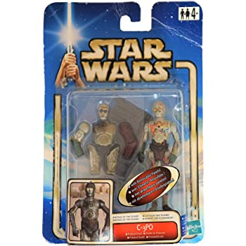 AOTC C-3PO Protocol Droid Hasbro 1883 Star Wars Attack of the Clones Action Figure