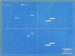 Dahle Mata do cięcia A2 (45 x 60 cm, samoregenerująca, do użytku po obu stronach, z siatką) niebieska