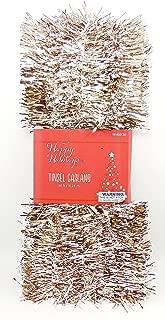Christmas Tinsel Garland,50ft. (Metallic Copper)