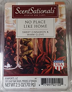 No Place Like Home-Everydaycollection Wax 3 packs - ScentSationals Scented Wax Cubes for Warmers