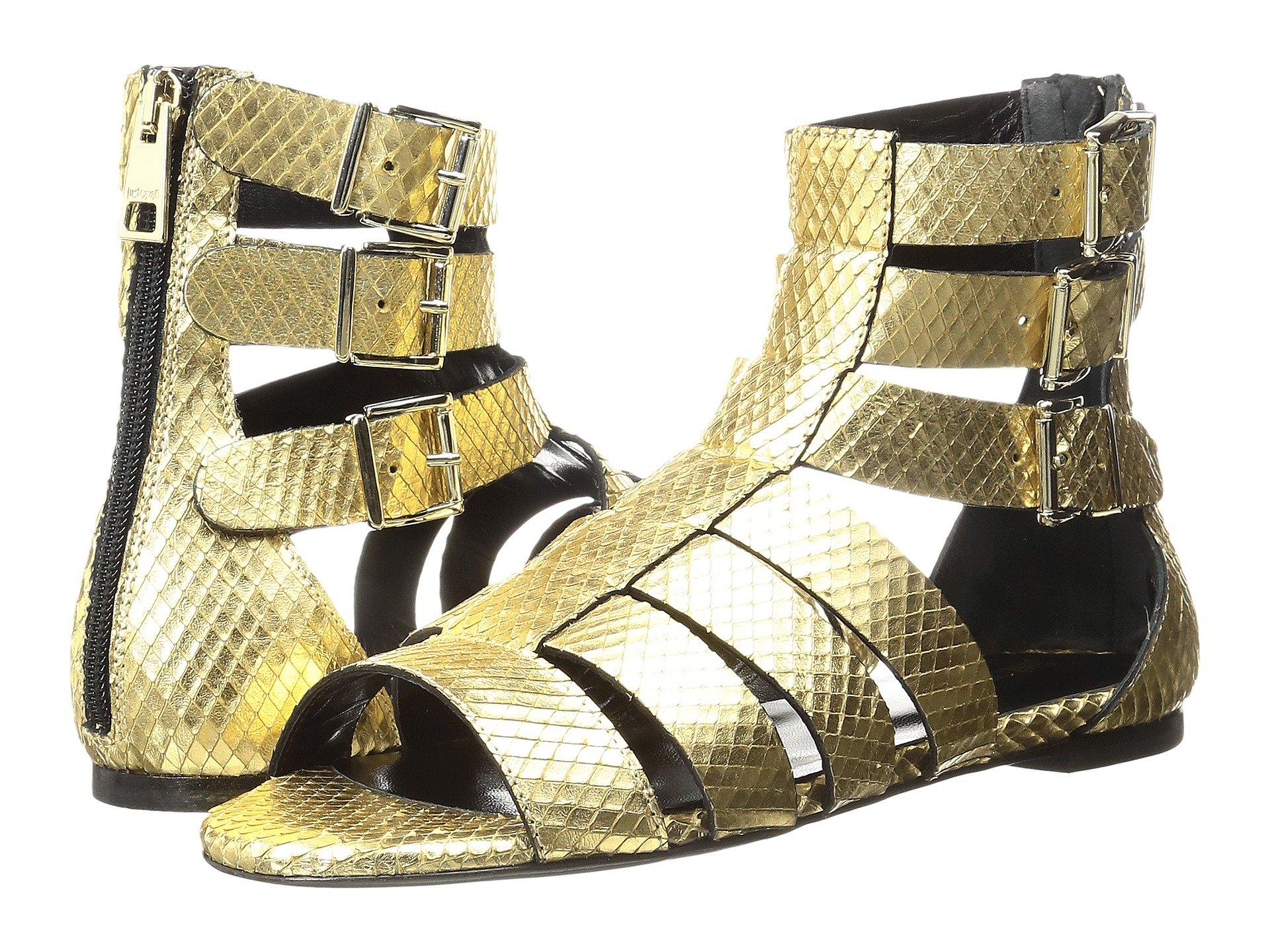 Python Leather Sandal