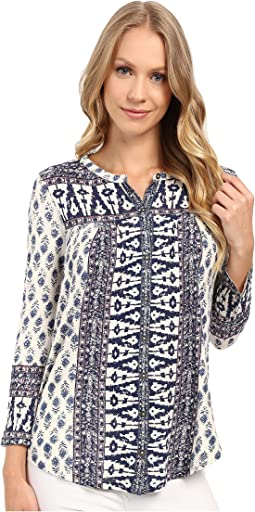 Lucky Brand - Wood Block Printed Top
