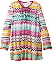 Knit Zigzag Dress (Toddler/Little Kids)
