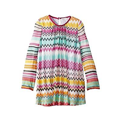 Missoni Kids Knit Zigzag Dress (Toddler/Little Kids) (Multi) Girl