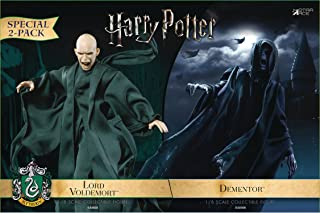 Star Ace Toys Harry Potter and The Goblet of Fire: Dementor & Lord Voldemort 1:8 Scale Action Figure (2 Pack)