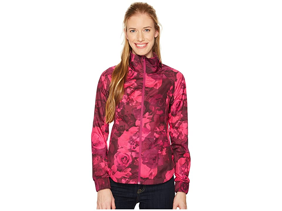 The North Face Reactor Jacket (Wild Aster Purple Botanical Print) Women